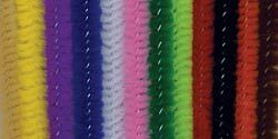 Darice 10423-11 Chenille Stems 6mm Multi