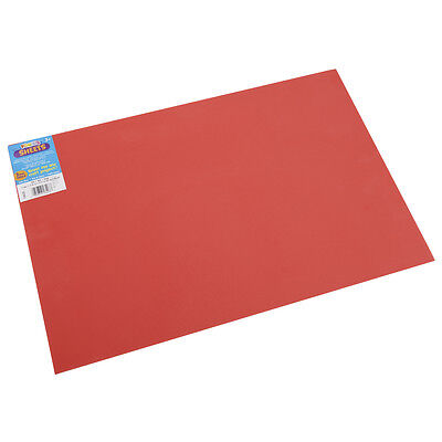 "Darice Foamies Foam Sheet 12""x18"" 2mm  Red  10/Pack"