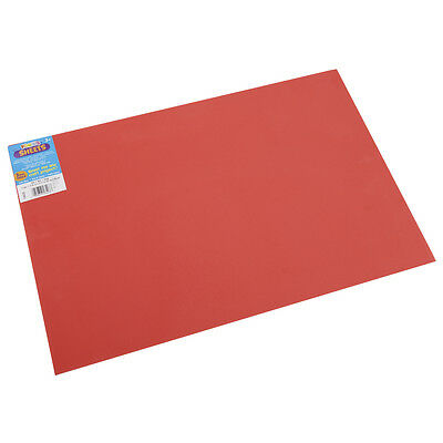 Darice Foamies Foam Sheet Red 2mm thick 12 X 18 Inches