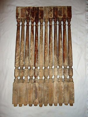 Architecual Heritage Stair Baluster Spindle,imperial Fluted Design Salvage Item