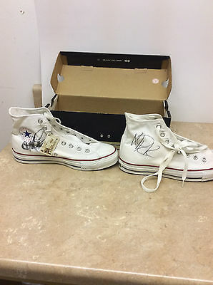 All American Rejects Signed Autographed Converse Chuck Taylor Shoes Size 7 NEW