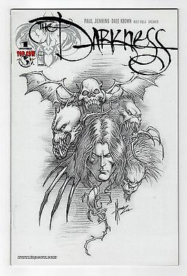 The Darkness Vol.2 #1 Dale Keown Sketch Cover Retailer Incentive VARIANT