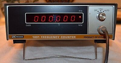 BK Precision Dynascan 1801 Frequency Counter
