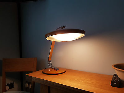 Vintage 1960s Fase desk lamp in modernist style