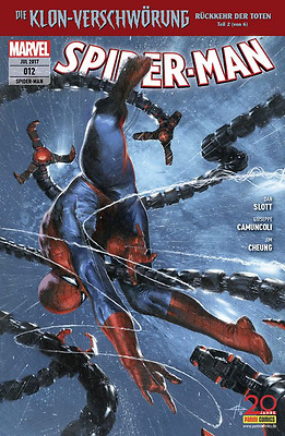 Spider-Man 12 (All New 2016) - Deutsch - Panini - Comic - NEUWARE