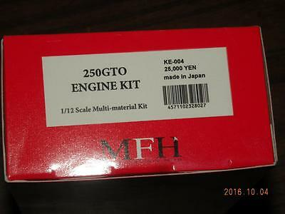 Mfh Model Factory Hiro 1/12 Ferrari 250 Gto Engine Kit Ke004 1962 1964
