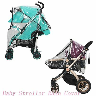 Baby Accessories Stroller Rain Cover Pram Raincoat Pushchair Wind Shield