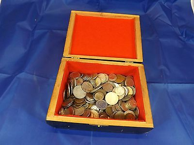 Foreign world coin collection