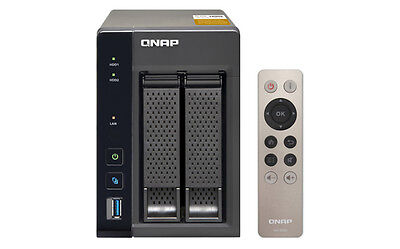 (Run) Ts-253A-4G Qnap Nas Tower 2Bay 2,5 3,5 Sata3 1,6Ghz Qc 4Gb Ddrl3 (Max8Gb)