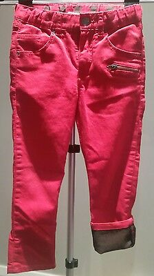 H&M Red Boys / Girls Jeans Size 5-6 Years with adjustable waist!