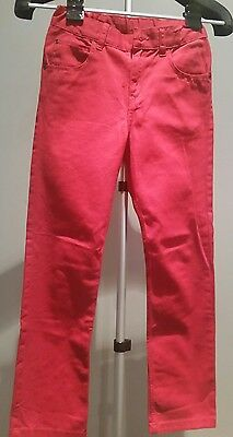 H&M Red Jeans Boys or Girls  Size 8-9 Years