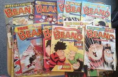 BEANO COMICS  FROM 2000 JOB LOT x 13 good condition