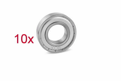 10PC Premium 608 ZZ ABEC3 Metal Shielded Deep Groove Ball Bearing 8 x 22 x 7mm
