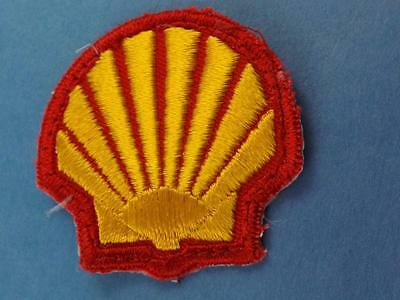Shell Oil Gas  Vintage Patch Logo Sign Service Station Employee Collector