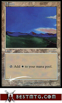 MTG Plains (2001) - Arena Promo NM
