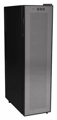 Amstyle Wine Beer 18 Bottle Refrigerator 53L Mini Bar Cooler Fridge New (Eec: A)