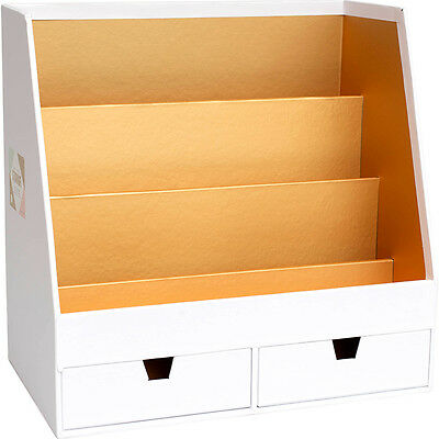 American Crafts Crate Paper Desktop Storage Desktop Organizer
