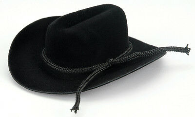 Darice Cowboy Hat with Rope Trim 0.75 Inch Black