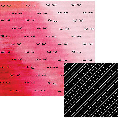 "Lush Double-Sided Paper 12/""X12/"" Lotus 883416105336"