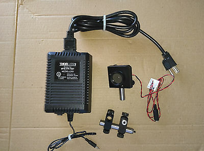 THORLABS Laser LED 635nm 5mW with ND10A Filter plus LDS1 Power Supply