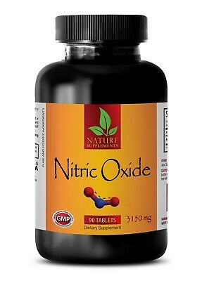 Pure Nitric Oxide - NITRIC OXIDE 3150mg - Increase Glucose Use - 90 Tablets