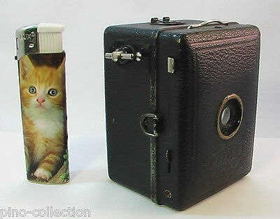 FOTOCAMERA ANTICA ZEISS IKON MINI CUBE Tiny Baby Box Tengor Antique Camera 1930