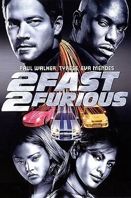 2 Fast and Furious 35mm Film Cell strip very Rare var_f