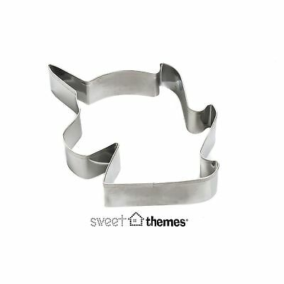 Unicorn Head Stainless Steel Cookie Cutter