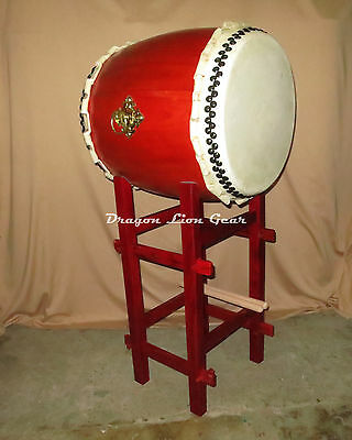 """18"""" Taiko Drum with mimi, pedestal stand and 1pr Bachi"""