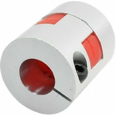 14mm To 15mm Shaft Stepped Motor Flexible Plum Coupling Coupler Joint