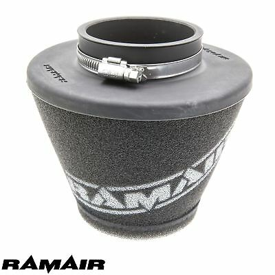 RAMAIR INDUCTION FOAM AIR FILTER UNIVERSAL SHORT CONE 70mm MADE IN UK