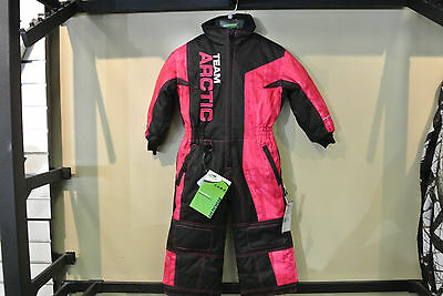 Arctic Cat Youth Team Arctic One Piece Suit Pink Yth 2, 3, 5, 6, 7 P/n: 5270-91_