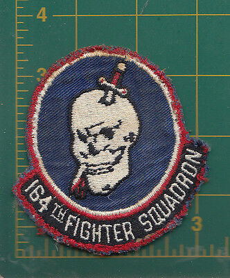 Authentic Air Force USAF  164th Tactical Fighter Squadron, Mansfield, F-84F