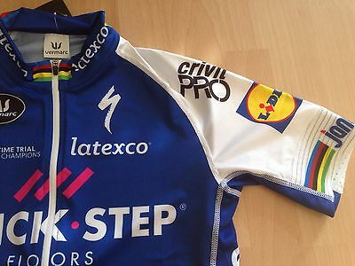 LAST M TOM BOONEN Team Quick Step World Champion Jersey Meister Trikot Maillot