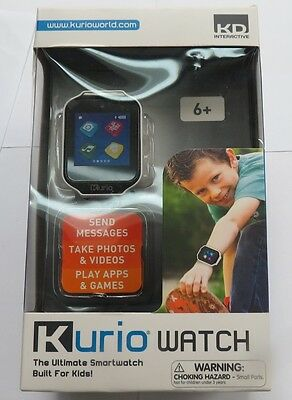 Kurio Watch The Ultimate Smartwatch Built For Kids WHITE  Brand New