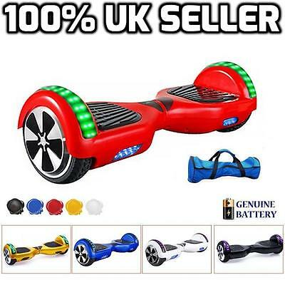 Hovertech Balancing Board Swegway Hoverboard Led Chrome With Bluetooth Free Bag