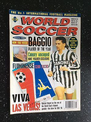 World Soccer Magazine January 1994