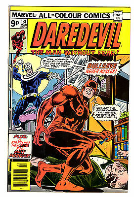 Daredevil #131 Marvel Bronze Age Comics 1st appearance of Bullseye VF