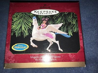 Hallmark Ornament Megara Meg and Pegasus Hercules 1997 NEW