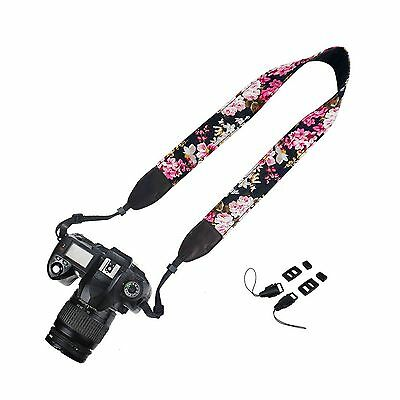 Elvam Camera Neck Shoulder Strap Belt for Nikon / Canon / Sony / Olympus - NEW
