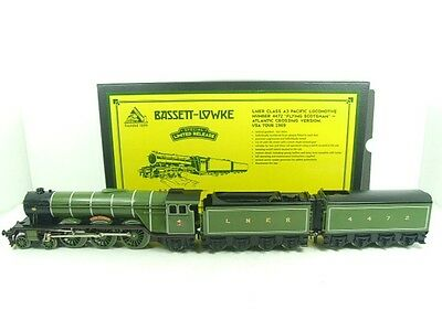 "Bassett Lowke O Gauge LNER A3 Pacific ""Flying Scotsman"" & x2 Twin Tenders Bxd"