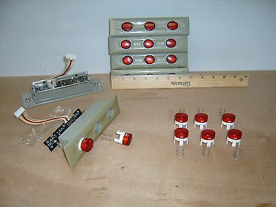 Slot Machine Reel Stop Buttons Set For Aruze Pachislo Skill Stop Machine