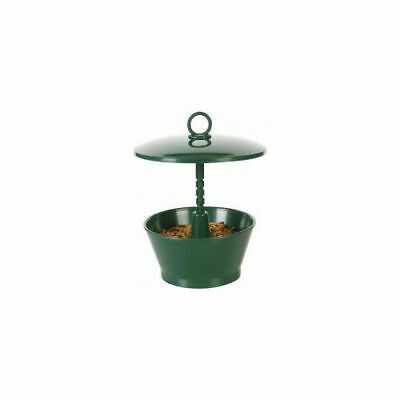 C J Wildbird Foods Cj Mini / Mealworm Feeder Green
