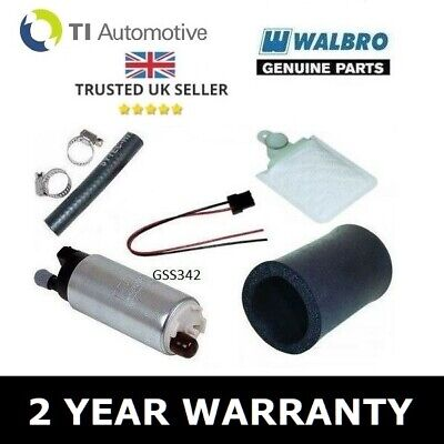 Genuine Walbro 255 Fuel Pump Gss342 Upgrade Kit For Saab 9000 9-3 900 9-5
