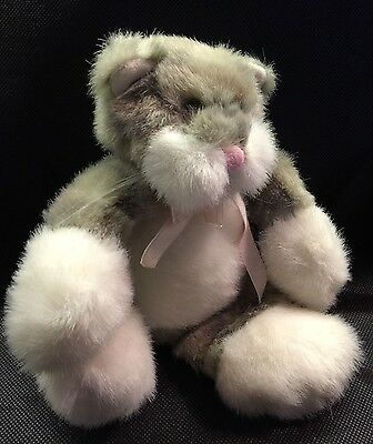 Boyds Bears Callaway Flat Cat  Retired - Rare in the UK. FREE UK P&P