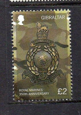 GIBRALTAR MNH 2014 The 250th Anniversary of the Royal Marines