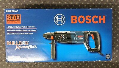 "BOSCH RH228VC 8-Amp 1-1/8"" SDS-Plus Rotary Hammer Drill *NEW* Free Shipping"
