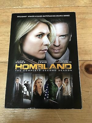 BRAND NEW SEALED Homeland: The Complete Second Season (DVD, 2013, 4-Disc Set)