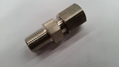 THERMOCOUPLE 1/8 NPT COMPRESSION STAINLESS STEEL FITTING TO SUIT 3mm DIA PROBE