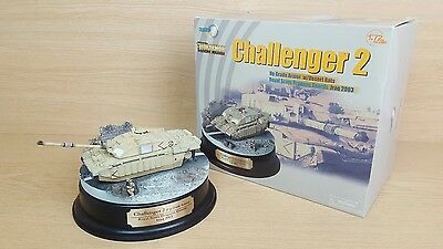 Dragon Armor Challenger 2 Tank 1:72 Scale Diorarmor Royal Scots Display Model